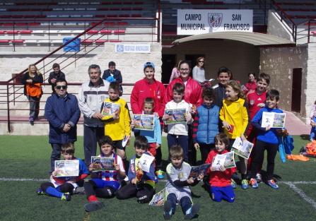 El CD Cultural Torrijeña Femenino clausura su I Campus de Fútbol de Semana Santa