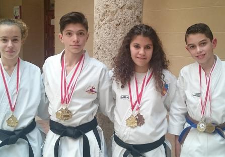 Los karatecas torrijeños consiguen 6 oros, 1 plata y 5 bronces en el regional