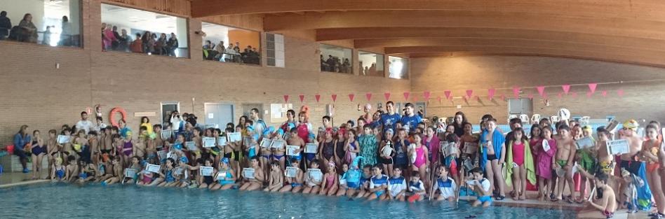 Más de 150 niños y niñas de toda la provincia en el Open de Natación de Torrijos