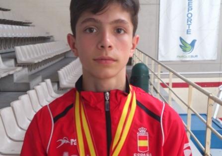 DAVID MOLINA con la Selección Española Infantil de Karate