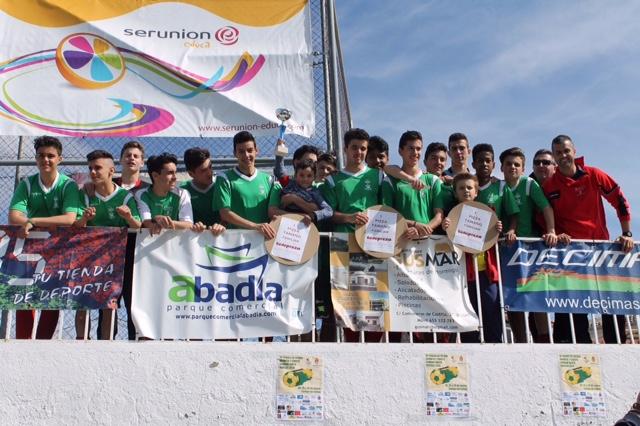 Cadete Fútbol Campeón Torneo S.Santa