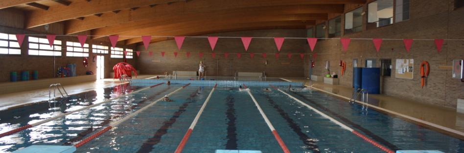 Dias de cierre de la piscina cubierta (mes de mayo)