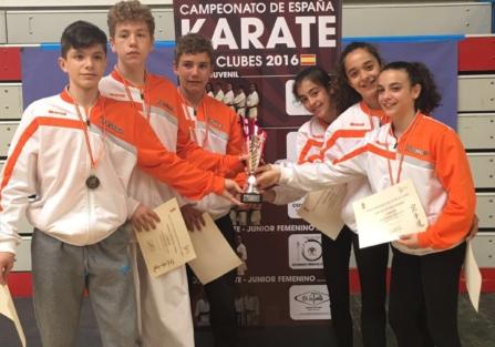 Campeonato de España Karate Clubs 2016