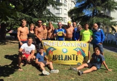 Torrijos tuvo representación en la fiesta nacional de las aguas abiertas