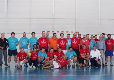 La Unión Deportiva Torrijeña de Balonmano recordó viejos tiempos