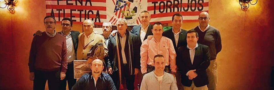 La peña del Atlético de Madrid de Torrijos celebra su 46 Aniversario