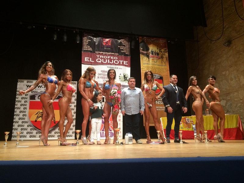 El Trofeo de Físico-Culturismo y Fitness reúne a una treintena de competidores de Castilla- La Mancha y Madrid