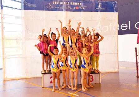 El Club Gimnasia Rítmica Torrijos se trae a casa 12 medallas del Campeonato Provincial