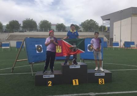 El torrijeño Mario Sánchez Félix, campeón de Castilla-La Mancha infantil en Arco Desnudo Recurvo