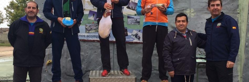 Joaquín González y Silvia Aparicio ganan la prueba de orientación en el XXII Pentaventura de OJE Torrijos