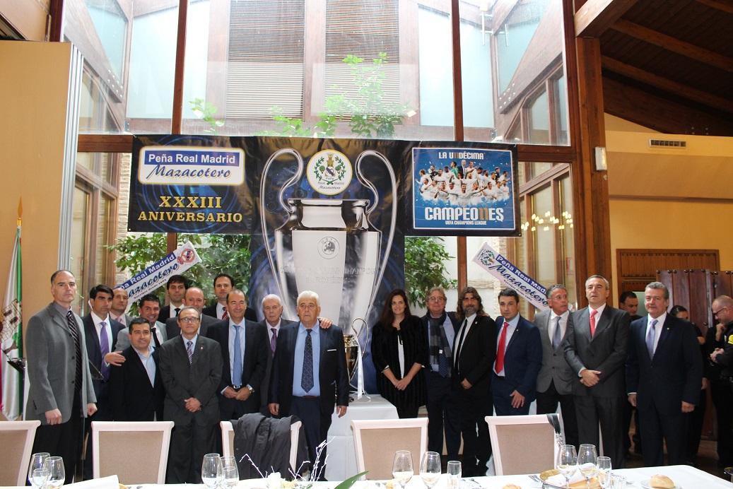"""La Peña """"Real Madrid Mazacotero"""" festeja su XXXIII Aniversario ... ad894c39952ff"""