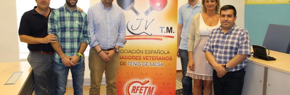 Torrijos acogerá el Campeonato de España de Tenis de Mesa de Veteranos