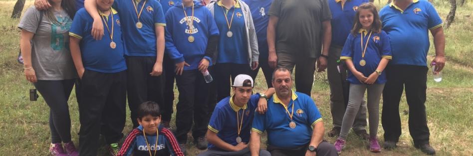 Integrantes del Club de Arqueros de Pedro I de Torrijos ganan siete medallas