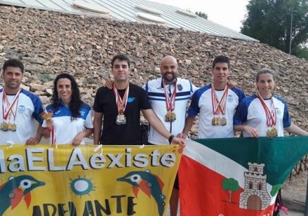 Lluvia de medallas para el CN Torrijos en el Campeonato de Castilla La Mancha Master