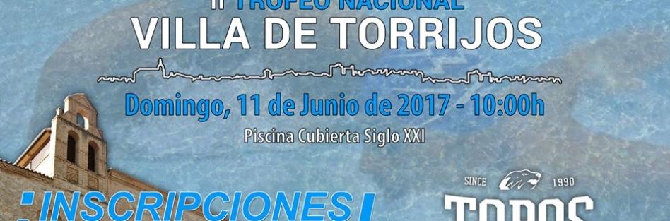 """La Piscina Municipal Cubierta """"Siglo XXI"""" acogerá el próximo domingo, 11 de junio a partir de las 10 h el II Trofeo Nacional """"Villa de Torrijos"""""""