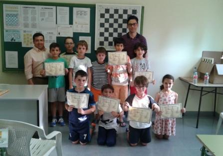 Finaliza con satisfacción el primer año de la Escuela Municipal de Ajedrez