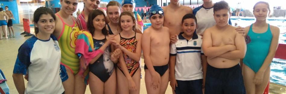Irene Tintea se hace con el oro en el Campeonato Provincial Benjamín y Alevín de Natación