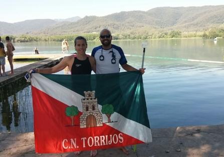 Rebeca Santos cumple su objetivo de quedar entre las diez primeras