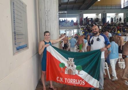 La nadadora del CN Torrijos, Rebeca Santos participa mañana en el Campeonato de España de Aguas Abiertas