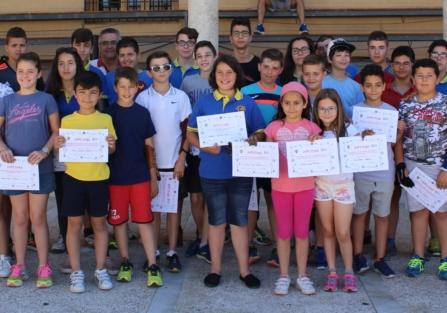 Se clausura con la entrega de diplomas el curso en la Escuela Municipal de Tiro con Arco