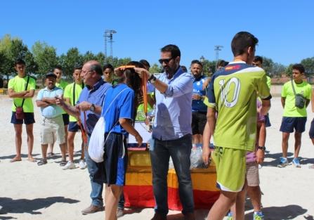 Los murcianos de la EDMF Churra-Gesa se alzan con la victoria en el Campeonato Nacional de Fútbol Playa de Torrijos