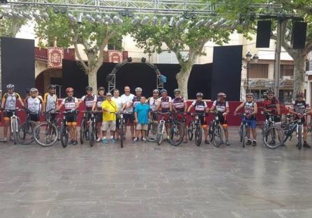 El sábado finaliza en la Plaza de España la II Ruta Ciclista Aspe-Torrijos