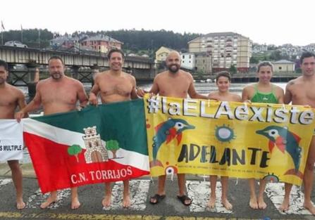 El CN Torrijos en el 60 aniversario del Descenso Internacional de la Ría de Navia