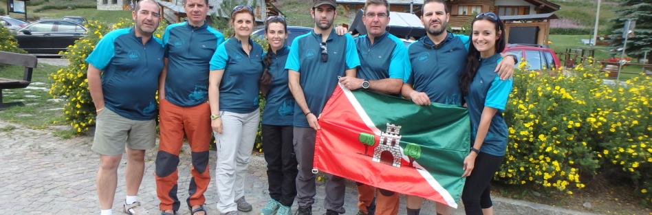 """El Club de Montañismo """"OJE"""" de Torrijos realiza una expedición en el Valle de Aosta"""