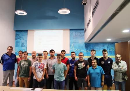 El CD Torrijos Spin Tenis de Mesa celebró un curso de arbitraje en el Ayuntamiento de Torrijos