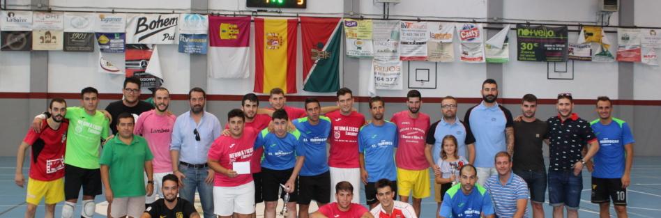 """El equipo """"Los Churitos"""" de Escalona, ganó el I Torneo de Fútbol Sala """"San Gil"""""""