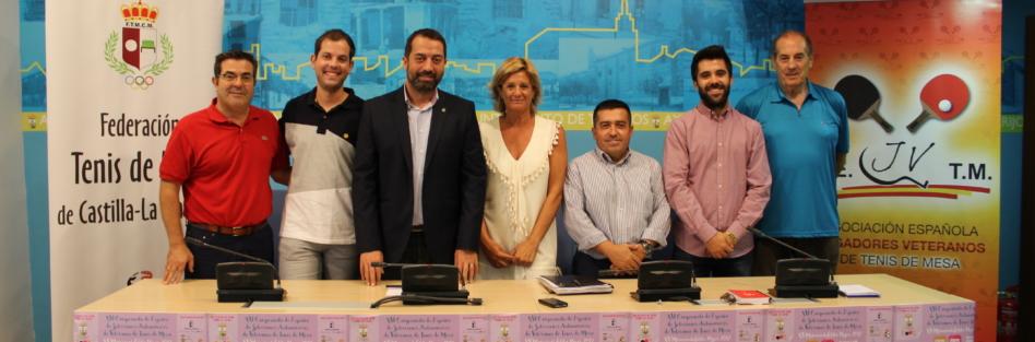 El Campeonato de España de Veteranos de Tenis de Mesa alcanzará en Torrijos su participación más alta