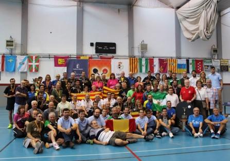 Alrededor de 400 personas, entre jugadores y acompañantes, en el Campeonato de España de Tenis de Mesa de Torrijos
