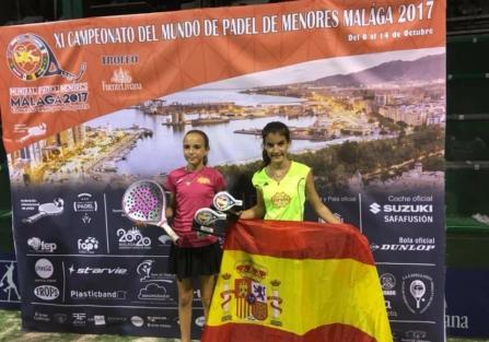 La torrijeña Noemí Aguilar se proclama campeona del mundo en pádel