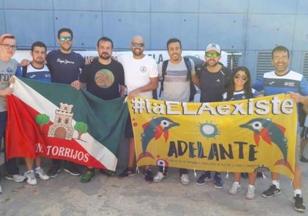 El CN Torrijos y el CN Máster Torrijos, unidos en la lucha contra la ELA