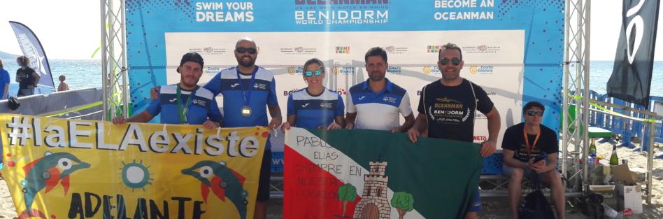 Brillante actuación del CN Máster Torrijos en el Oceanman World Championship de Benidorm