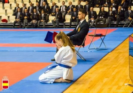 Los karatecas torrijeños Ainara, David y Anabel alcanzan el pódium en el Campeonato de España
