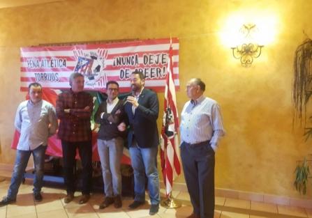 Más de 200 personas festejan el 47 aniversario de la Peña Atlético de Madrid de Torrijos