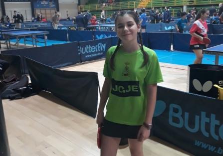 Daniela Ramos se clasifica para el Campeonato de España de Tenis de Mesa
