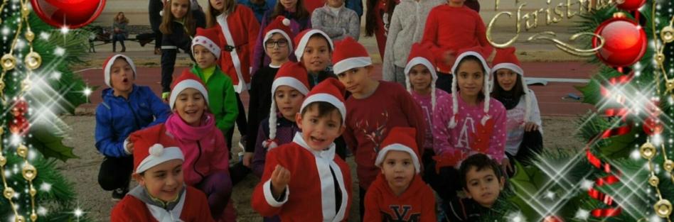 La Escuela Municipal de Atletismo de Torrijos festeja la Navidad