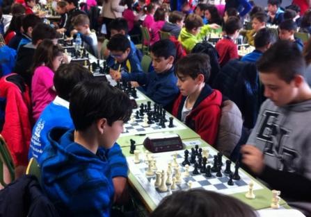 La Escuela Municipal de Ajedrez de Torrijos, presente en las VII Jornadas de Iniciación en Edad Escolar