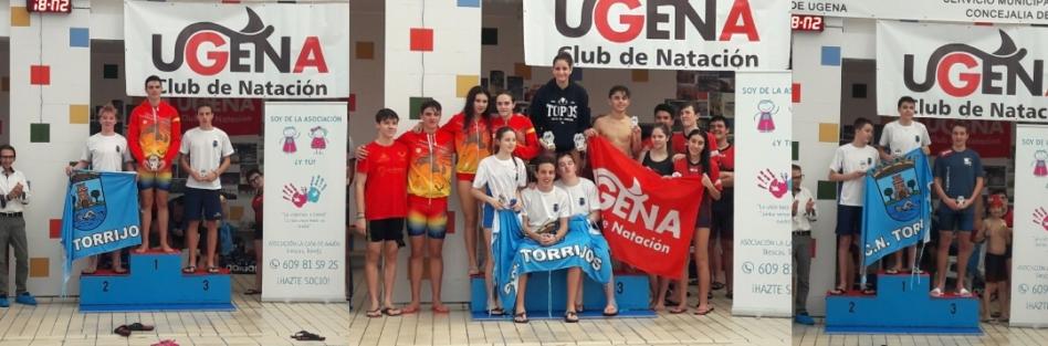 El CN Torrijos celebra 7  primeros puestos en el Trofeo de Ugena
