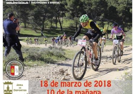 EL 18 DE MARZO SE CELEBRARÁ LA IX RUTA MTB  CRISTO DE LA SANGRE