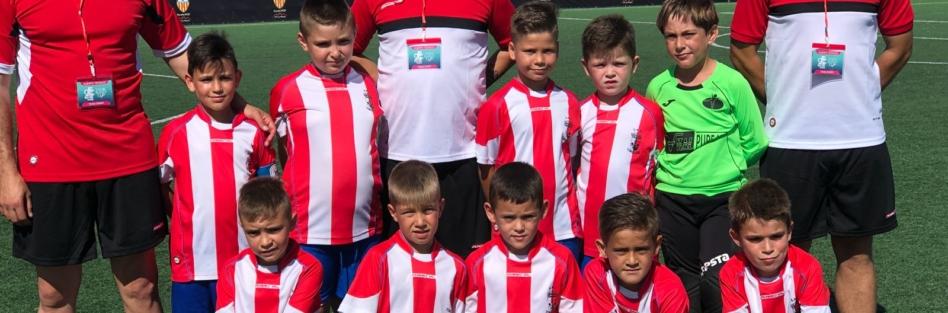 La Escuela Municipal de Fútbol de Torrijos participa en la Benidorm Costa Blanca Cup