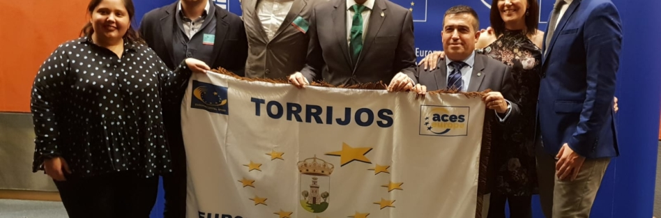 """EL AYUNTAMIENTO DE TORRIJOS RECOGIÓ EN BRUSELAS EL TÍTULO DE """"VILLA EUROPEA DEL DEPORTE 2019"""""""