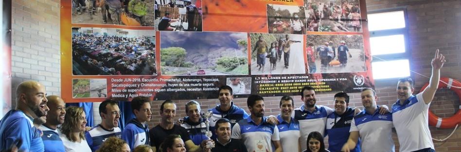 """EL TROFEO """"100 X 100 SOLIDARIOS"""" RECAUDA MÁS DE 1.200 € PARA LA LABOR DE BUSF EN GUATEMALA"""