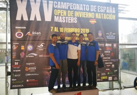 XXV Campeonato de España Master de Invierno