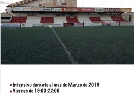 Curso federativo de monitor de fútbol y fútbol sala en Torrijos
