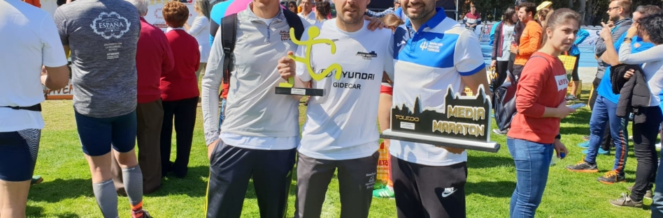 Gran carrera de Roberto López Ceca en la II Media Maratón de Toledo