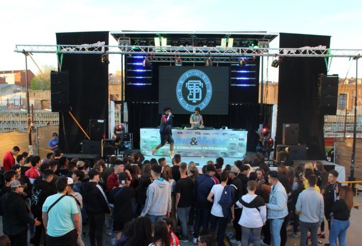 """EL FESTIVAL """"URBAN FEST"""" CLAUSURA UNA SEMANA DE LA JUVENTUD Y EL DEPORTE DE INTENSA ACTIVIDAD"""
