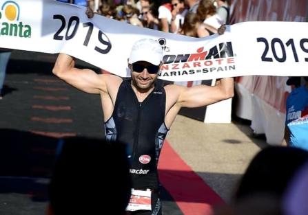 Roberto López Ceca completa su segundo Ironman de Lanzarote